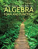 Algebra Form and Function 2e + WileyPLUS Registration Card