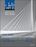 Intermediate Accounting, Sixteenth Edition Volume 2 Study Guide