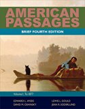 Bundle: American Passages: A History of the United States, Volume 1: To 1877, Brief, 4th + A...