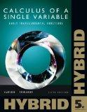 Single Variable Calculus: Early Transcendental Functions, Hybrid (with Enhanced WebAssign Ho...
