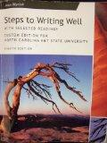 Steps to Writing Well; with Selected Readings (North Carolina A&T State University)