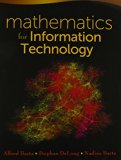 Bundle: Mathematics for Information Technology + CourseMate Printed Access Card