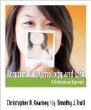 Bundle: Abnormal Psychology and Life: A Dimensional Approach + Aplia Printed Access Card