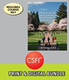 Bundle: Navigating the Research University: A Guide for First-Year Students, 3rd + CSFI, 1 t...