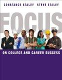 Bundle: FOCUS on College and Career Success + College Success CourseMate with eBook, CSFI 2....