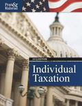 Individual Taxation 2013 (with H&R Block @ Home CD-ROM, CPA Excel 1-Semester Printed Access ...