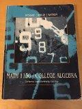 Math 1130 College Algebra (Csu Eastbay)