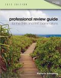 Professional Review Guide for the RHIA and RHIT Examinations, 2013 Edition (Book Only)