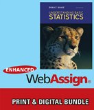 Bundle: Understanding Basic Statistics, 6th + Enhanced WebAssign Printed Access Card for Sta...