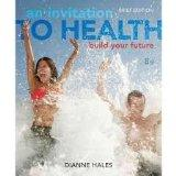 Personal Wellness Guide for Hales' An Invitation to Health: Choosing to Change, Brief Editio...