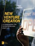 New Venture Creation : A Framework for Entrepreneurial Start-Ups