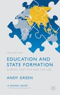 Education and State Formation : Europe, East Asia and the USA