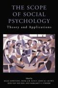 Scope of Social Psychology : Theory and Applications (a Festschrift for Wolfgang Stroebe)