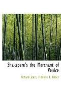 Shakspere's the Merchant of Venice