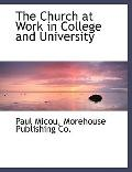 Church at Work in College and University