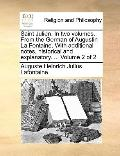 Saint Julien in Two Volumes from the German of Augustin la Fontaine with Additional Notes, H...