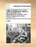 Lysiou Ta Perigenomena Lysiae Orationes et Fragmenta Graece et Latine Ad Fidem Codd Manuscri...