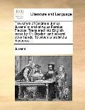 Satyrs of Decimus Junius Juvenalis : And of Aulus Persius Flaccus. Translated into English v...