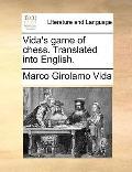 Vida's Game of Chess Translated into English