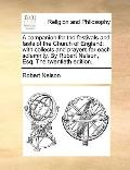 Companion for the Festivals and Fasts of the Church of England : With collects and prayers f...