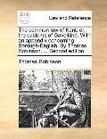 Common Law of Kent : Or, the customs of Gavelkind. with an appendix concerning Borough-Engli...