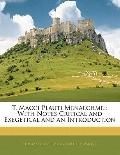 T. Macci Plauti Menaechmei: With Notes Critical and Exegetical and an Introduction (Latin Ed...