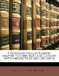 Course of English Reading : Adapted to Every Taste and Capacity