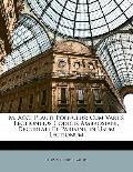 M. Acci Plauti Poenulus: Cum Variis Lectionibus Codicis Ambrosiani, Decurtati Et Parisini, i...