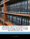 Memorials of Beverly Minster: The Chapter Act Book of the Collegiate Church of S. John of Be...