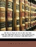 Luther Und Luthertum in Der Ersten Entwickelung: Quellenmssig Dargestellt, Volume 1,part 1 (...