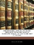 Abbreviations Used in Law Books: Reprinted from the Lawyer's Reference Manual of Law Books a...
