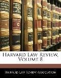 Harvard Law Review, Volume 8