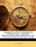 Grammatici Latini Ex Recensione Henrici Keilii ...: Prisciani Institvtionvm Grammaticarvm Li...