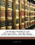 Handy Companion for Constant Use Business, Legal, Social and Postal Laws and Forms