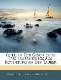 Quellen Zur Geschichte Des Bauernkriegs Aus Rotenburg an Der Tauber (German Edition)