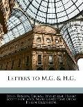 Letters to M.G. & H.G.
