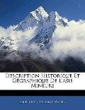 Description Historique Et Ggraphique De L'asie Mineure (French Edition)