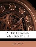 First Italian Course, Part