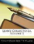 Lean's Collectanea, Volume 1