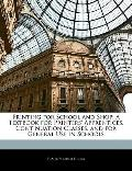 Printing for School and Shop: A Textbook for Printers' Apprentices, Continuation Classes, an...