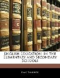 English Education: In the Elementary and Secondary Schools