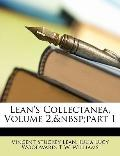 Lean's Collectanea, Volume 2,part 1