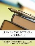 Lean's Collectanea, Volume 3