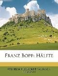 Franz Bopp : Hälfte