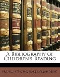 Bibliography of Children's Reading