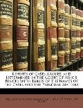 Reports of Cases Argued and Determined in the Court of King's Bench: With Tables of the Name...