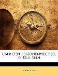 ber Den Personenwechsel in Der Rede (German Edition)