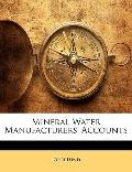 Mineral Water Manufacturers' Accounts