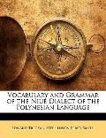 Vocabulary and Grammar of the Niué Dialect of the Polynesian Language