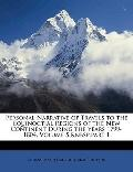 Personal Narrative of Travels to the Equinoctial Regions of the New Continent During the Yea...